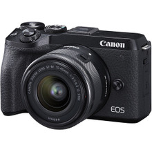 Canon EOS M6 Mark II Mirrorless Digital Camera (Ef-M 15-45mm F/3.5-6.3 IS STM