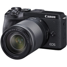 Canon EOS M6 Mark II Mirrorless Digital Camera (Ef-M 18-150mm F/3.5-6.3 IS STM with Evf Kit