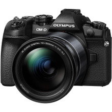 Olympus OM-D E-M1 Mark II Mirrorless Micro Four Thirds Digital Camera with 12-200mm Lens