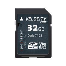 Promaster SDHC 32GB VELOCITY CINE