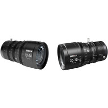 DZOFilm DZO 10-24mm & 20-70mm T2.9 MFT Parfocal Cine Lens Bundle