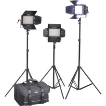 Cineroid LM400-3setV Professional LED 3-Light Kit