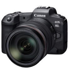 Canon EOS R5 Mirrorless Digital Camera with 24-105mm f/4L Lens In Stock