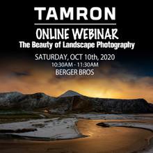 10/10/20 - Tamron Landscape Seminar