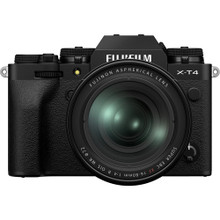 FUJIFILM X-T4 Mirrorless Digital Camera with 16-80mm Lens (In Stock)