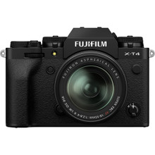 FUJIFILM X-T4 Mirrorless Digital Camera with 18-55mm Lens (In Stock)