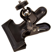 Bescor Clip Clamp with Attached Swivel Ball Mount