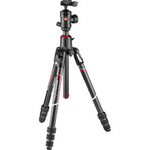 Manfrotto Befree GT Travel Carbon Fiber Tripod with 496 Ball Head for Sony alpha Cameras