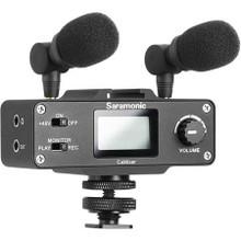 Saramonic CaMixer 2-Channel Professional Audio Mixer Kit
