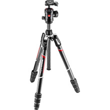 Manfrotto Befree GT XPRO Travel Carbon Fiber Tripod with MH496 Ball Head & 200PL-PRO Quick Release Plate