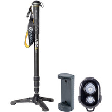 Vanguard VEO 2 SAM 264TR Aluminum Monopod with Smartphone Holder & Remote