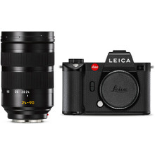 Leica SL2 Mirrorless Digital Camera with Vario 24-90mm Lens Bundle