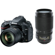 Nikon D610 DSLR Camera with 24-85mm and 70-300mm Lenses