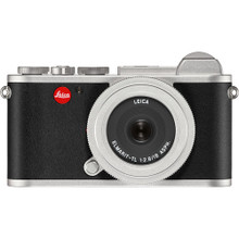 Leica CL Mirrorless Digital Camera with 18mm Lens [Silver Anodized]