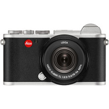 Leica CL Mirrorless Digital Camera with 18-56mm Lens [Silver Anodized]