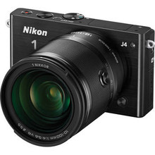 Nikon 1 J4 Mirrorless Digital Camera with 10-100mm Lens