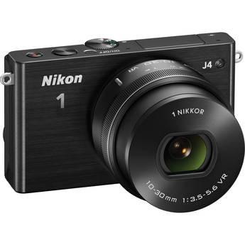 Nikon 1 J4 Mirrorless Digital Camera with 10-30mm Lens
