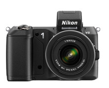Nikon 1 V2 Digital Camera w/ 10-30mm & 30-110mm VR  Lenses