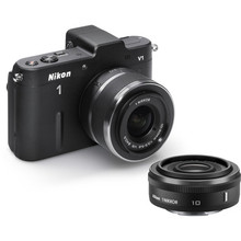 Nikon 1 V1 Mirrorless Digital Camera w/ 10mm And 10-30mm Lenses