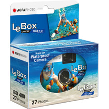 AgfaPhoto LeBox Ocean Waterproof Camera (400 ISO, 27-Photos)