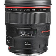 Canon EF 24mm f/1.4L II USM Autofocus Lens