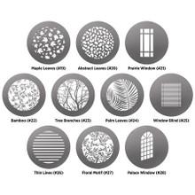 Westcott Environmental Gobo Pack for Optical Spot by Lindsay Adler, 10-Pack