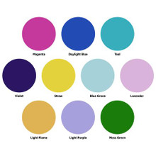 Westcott Creative Color Gel Pack for Optical Spot by Lindsay Adler, 10-Pack