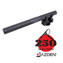 Skip to the beginning of the images gallery Azden Professional Dual-Powered Shotgun Microphone