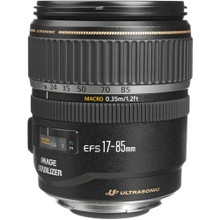Canon Zoom Super Wide Angle EF-S 17-85mm f/4-5.6 IS Lens