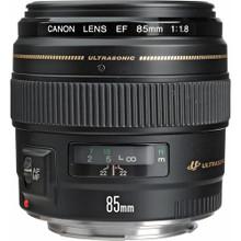 Canon 85mm f/1.8 EF Usm Lens