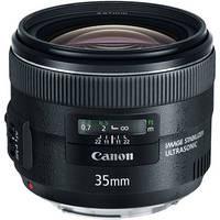 Canon EF 35mm f/2.0 IS USM Standard Prime Lens