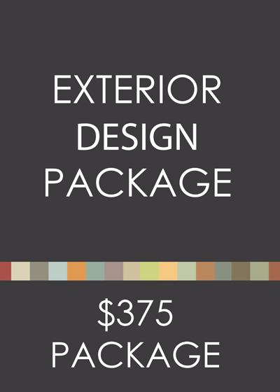 Exterior Design eDesign Package
