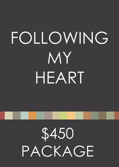 Following my Heart eDesign Package
