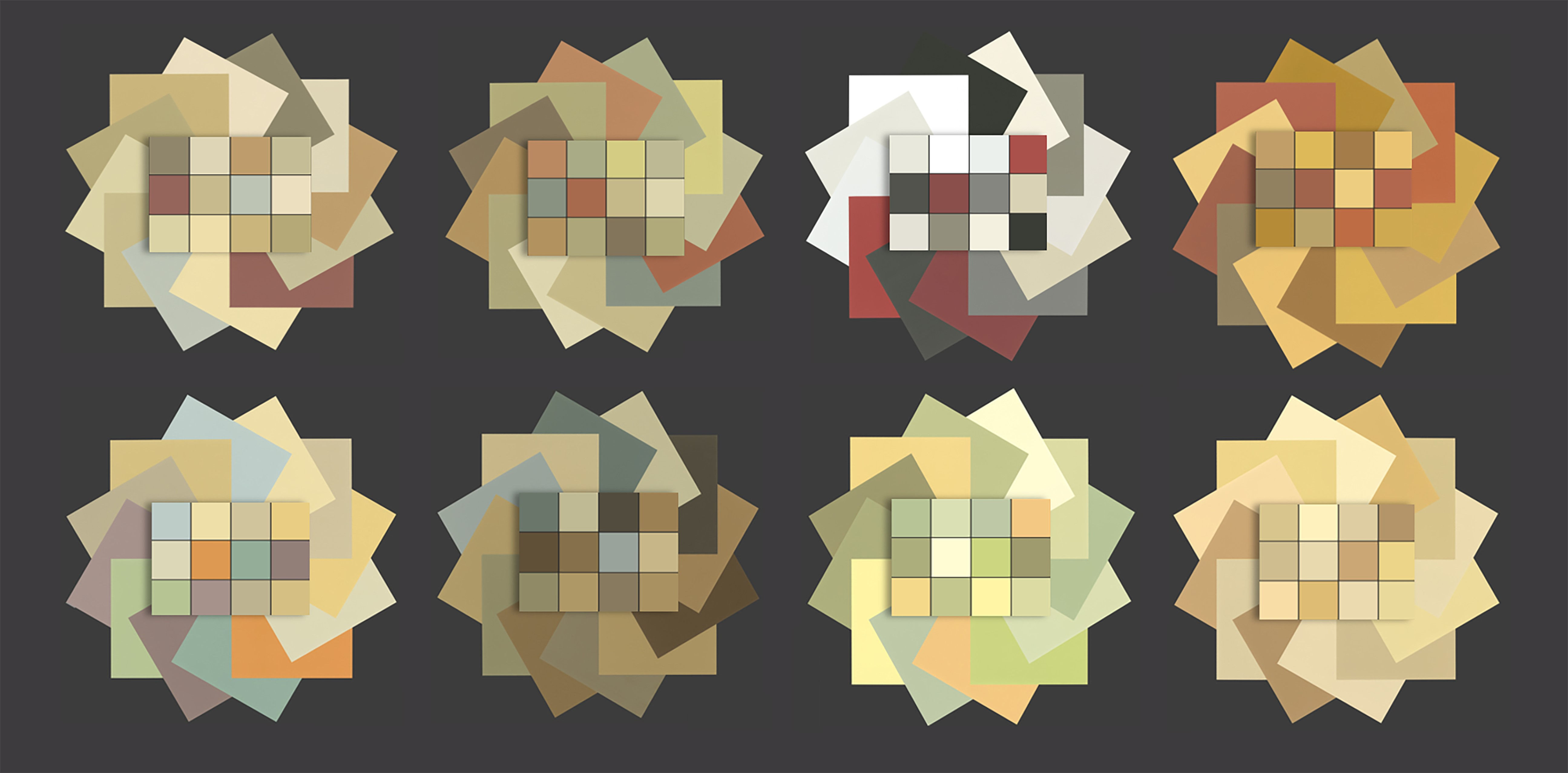 Dwelling Palettes by Color in Space