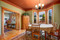 Bungalow Dwelling Color Palette in Benjamin Moore Paint Colors in Dining Room