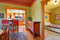 Color in Space Bungalow Dwelling Color Palette in Craftsman Dining Room