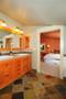 Color in Space Bungalow Dwelling Color Palette in Benjamin Moore Paint Colors in Craftsman Bathroom