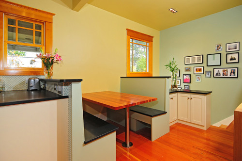 Cabana Dwelling Color Palette in Benjamin Moore Paint colors in kitchen