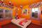 Cottage Palette in Benjamin Moore Paint colors in kids' bedroom