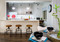Color in Space Penthouse Color Palette™ in Benjamin Moore Paint colors breakfast bar