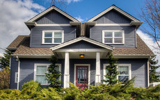 Exterior Paint Color Design: Classic Grey Colonial