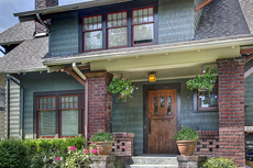 Exterior Paint Color Design: Mount Baker Craftsman