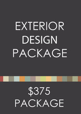 Exterior Paint Color Design Package