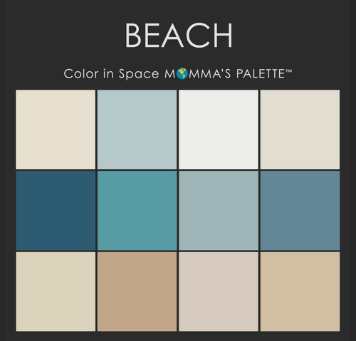 Color in Space Beach Palette™
