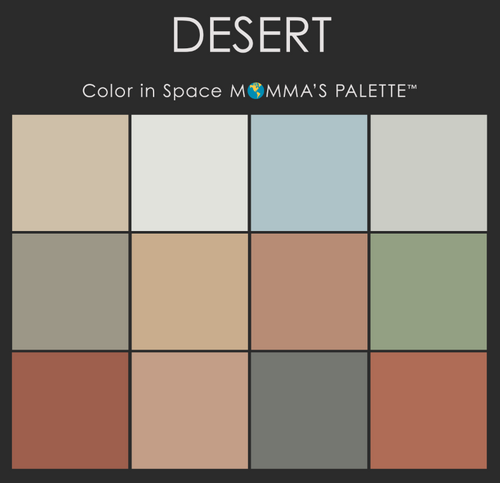 Desert Palette™ from Color in Space