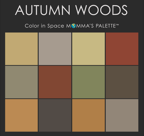Autumn Woods Palette™ from Color in Space