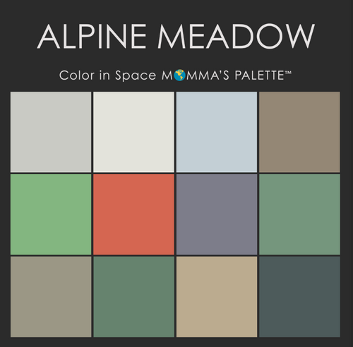 Alpine Meadow Palette from Color in Space