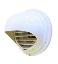 Noritz PVT-HL Plastic Hood Termination for PVC and CPVC Venting 3 and 4 Inch Diameter