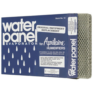 Aprilaire Whole House Humidifier Replacement Water Panel Model 12