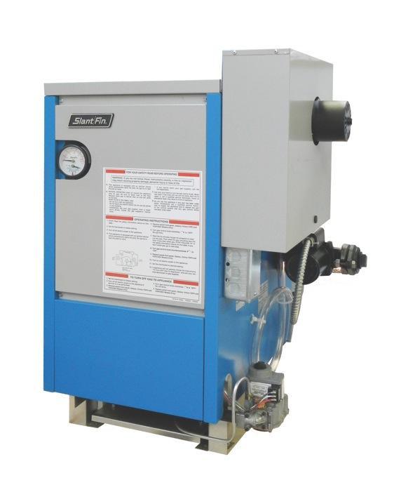 slantfin vhs 150ep 150,000 btu high performance, cast iron, power vent gas boiler natural gas Slant Fin Home Heaters